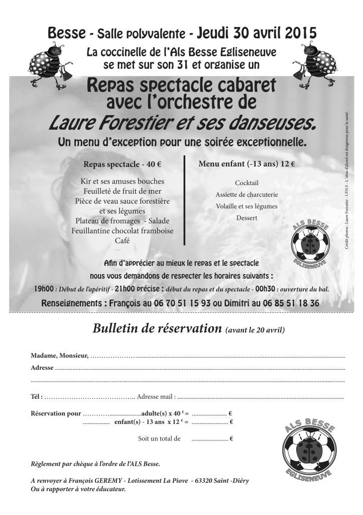 reservation cabaret nb
