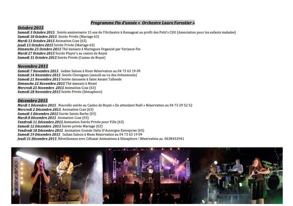 Orchestre Laure Forestier
