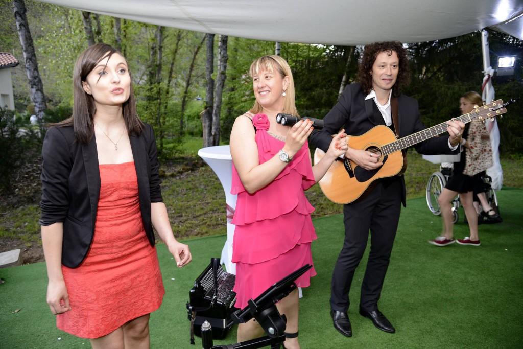 Chanteuse de l'orchestre Laure Forestier