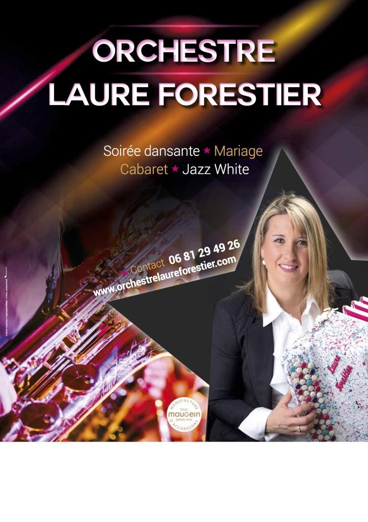 Affiche orchestre Laure Forestier