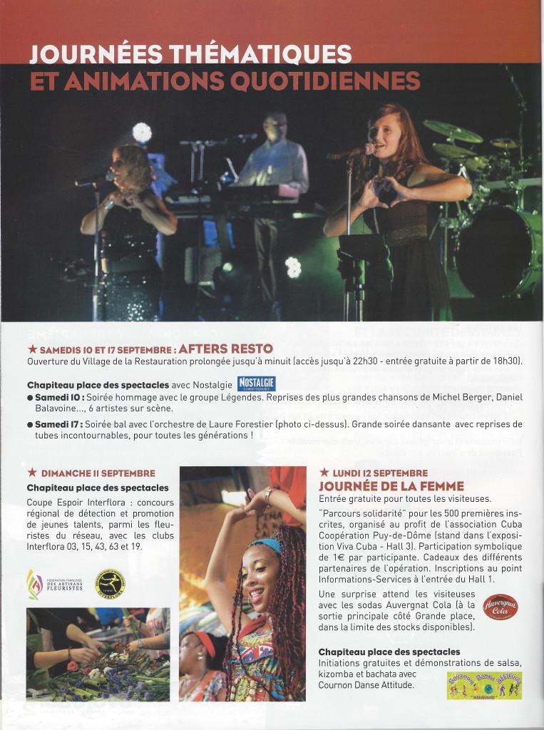 Foire Clermont Cournon 2017 1