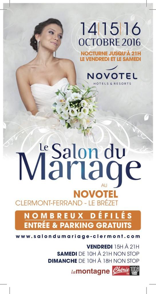 Flyer salon du mariage Novotel 2016